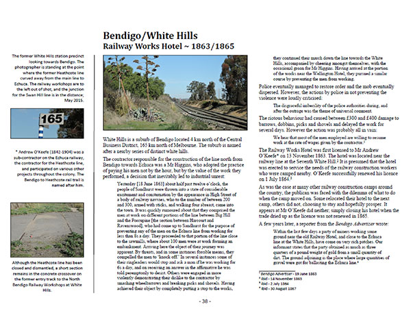Page 38 of Volume One ~ Victoria: Bendigo/White Hills