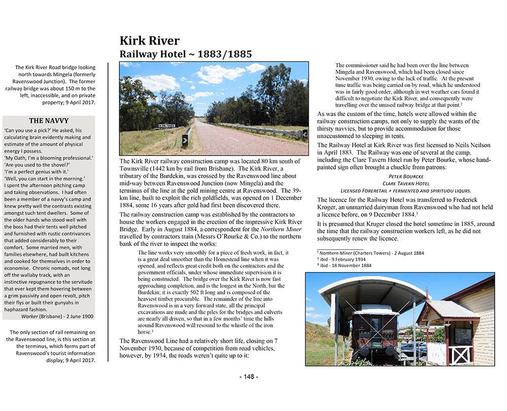 Page 136 of Volume Three ~ Queensland: Kirk River Railway Hotel
