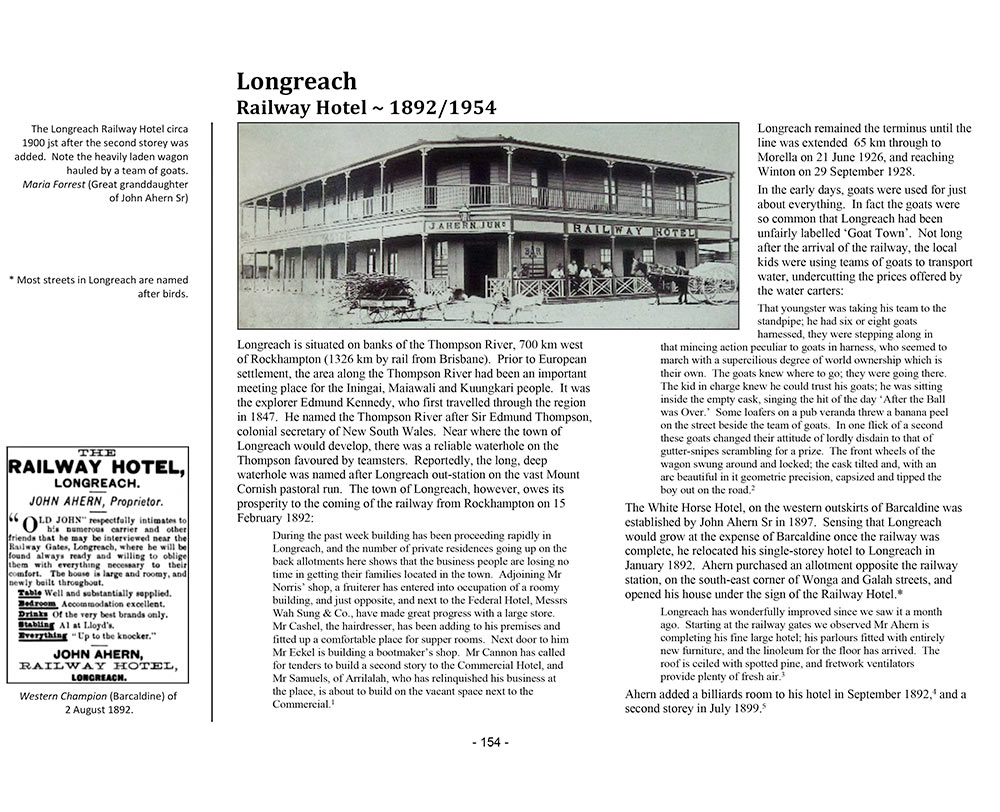 Page 142 of Volume Three ~ Queensland: Longreach Railway Hotel