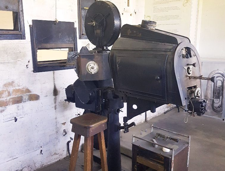 Antique Film Projector at Mitchell Library, QLD