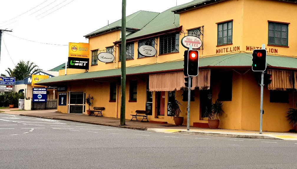White Lion Hotel in Maryborough QLD